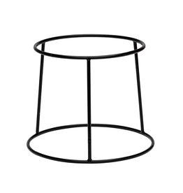 Stylepoint Buffetverhoger anti-slip zwart 25x21x15