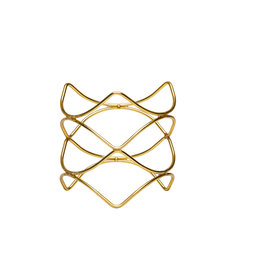 Stylepoint Buffetverhoger anti-slip goud 21x21x20