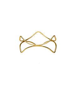 Stylepoint Buffetverhoger anti-slip goud 21x21x10