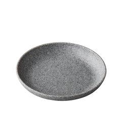 Stylepoint Pebble grey organisch diep bord 21,5 cm