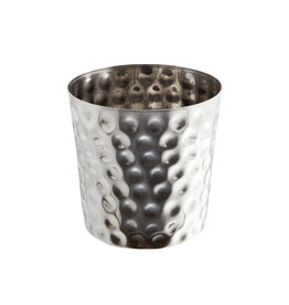 Stylepoint Stainless Steel serving cup hammered 8,5 cm