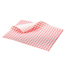Stylepoint Vetvrij papier rood geblokt 25 x 20 cm 1000st