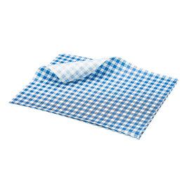 Stylepoint Vetvrij papier blauw geblokt 25 x 20 cm 1000st
