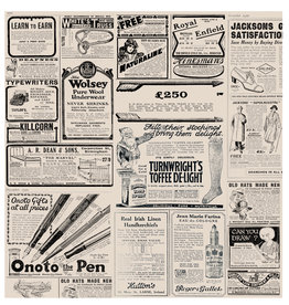 "Stylepoint Vetvrij papier ""Newspaper brown"" 34x28cm 1000-pak"