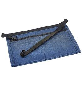 Stylepoint Geld schort spijkerstof blauw 44 x 30 cm