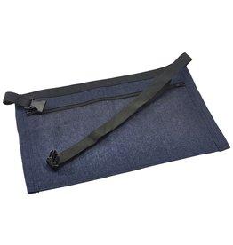 Stylepoint Geld schort spijkerstof donkerblauw 44 x 30 cm