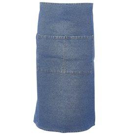 Stylepoint Taille schort spijkerstof blauw 90 x 70 cm