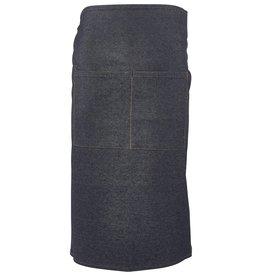 Stylepoint Taille schort spijkerstof donkerblauw 90 x 70 cm