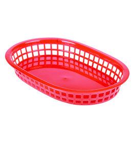 Stylepoint Fastfood mandje rood 27,5 x 17,5 cm