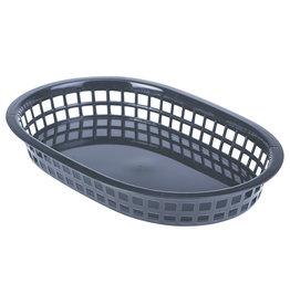 Stylepoint Fastfood mandje zwart 27,5 x 17,5 cm