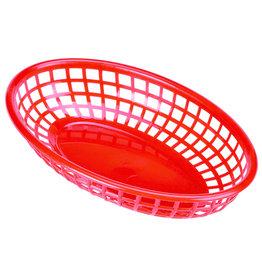 Stylepoint Fastfood mandje rood 23,5 x 15,4 cm