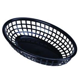 Stylepoint Fastfood mandje zwart 23,5 x 15,4 cm