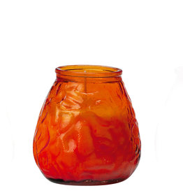 Stylepoint 70-hours terrace candle glass orange