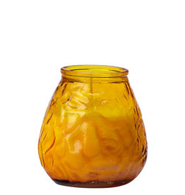 Stylepoint 70-hours terrace candle glass amber