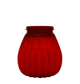 Stylepoint 65-hours terrace candle plastic red