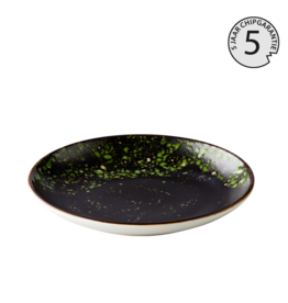 Stylepoint Amazone Jungle green deep coupe plate 23 cm