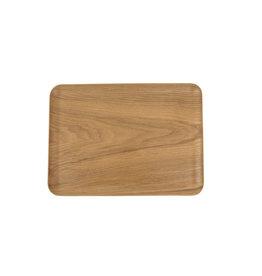 Teaclassix Rechthoekig dienblad antislip 27x20cm Natural Wood