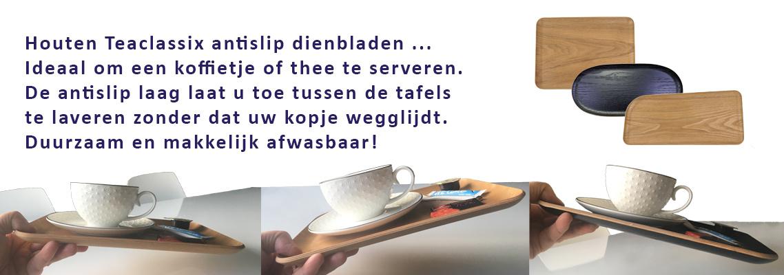 Teaclassix - antislip dienblad