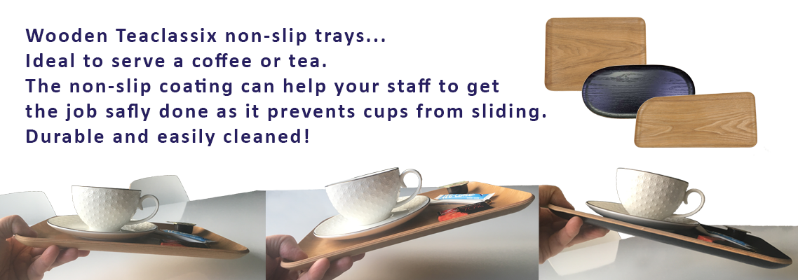 Teaclassix - non-slip trays