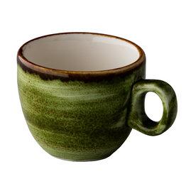 Stylepoint Jersey espresso kop stapelbaar groen 80 ml