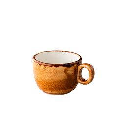 Stylepoint Jersey koffiekop stapelbaar oranje 160 ml