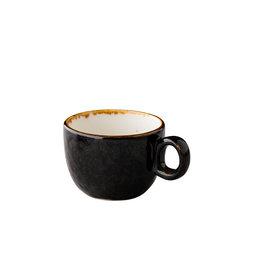 Stylepoint Jersey koffiekop stapelbaar bruin 160 ml