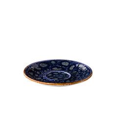 Stylepoint Jersey multifunctionele kopjes schotel blauw 15 cm