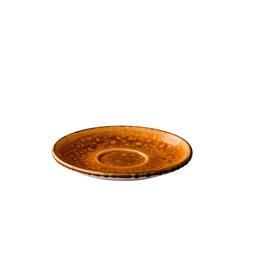 Stylepoint Jersey multifunctionele kopjes schotel oranje 15 cm
