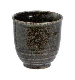 Tokyo Design Studio Shinryoku Green mug whitewood handle 8.2x9.6cm