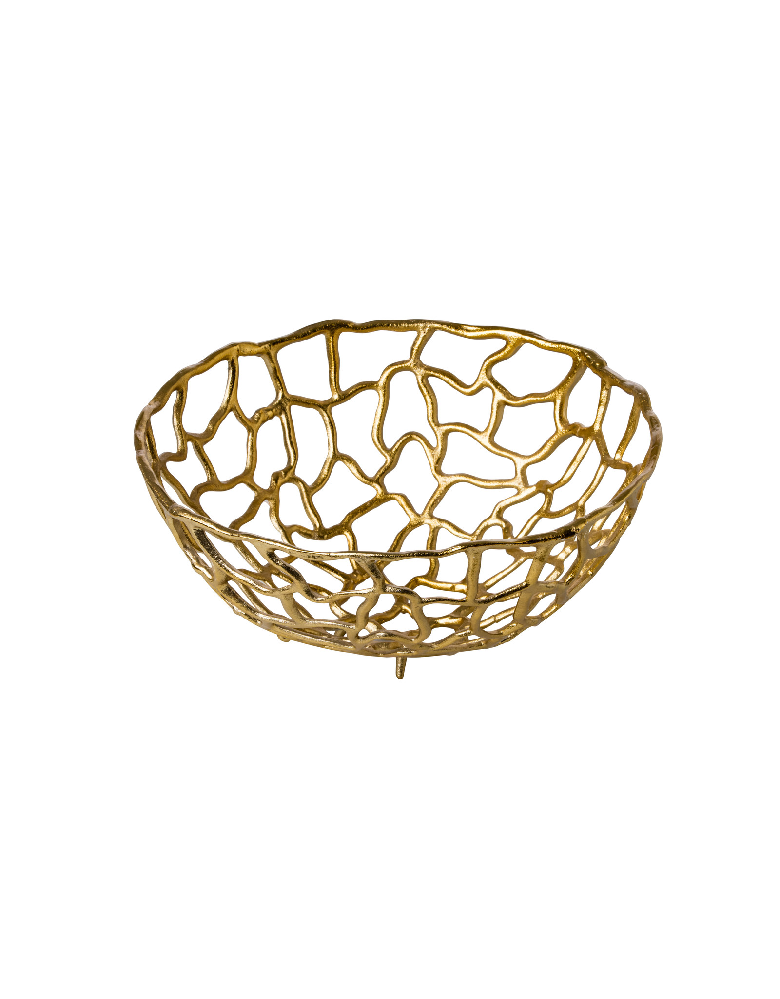 Stylepoint Aluminum mand goud Ø38 cm