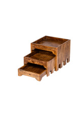 Stylepoint Wooden buffet cupboard 3 tiers