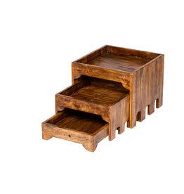 Stylepoint Wooden buffet cupboard 3 tiers