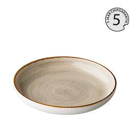 Stylepoint Jersey deep round plate grey 23,5 cm