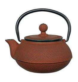 Teaclassix Arare theepot 0,60 ltr, rood