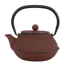 Teaclassix Arare theepot 0,80 ltr, rood