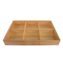 Tokyo Design Studio Kitchen Bento Box wood 37.5x25.5x5.8cm 27054 1/10 //