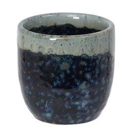 Tokyo Design Studio Sake Cup 4.5x4.5cm wit/blauw