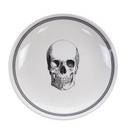 Tokyo Design Studio Skull Design Kom 24,5x3,5cm, Bald Skull