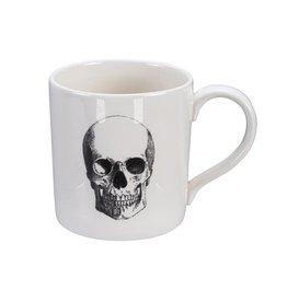 Tokyo Design Studio Skull Design Mug 9x9,3cm, 400ml, Bald Skull