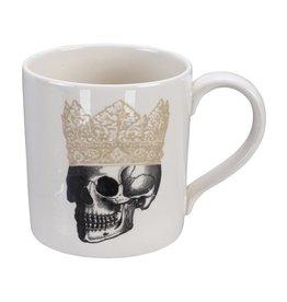 Tokyo Design Studio Skull Design Mug 9x9,3cm, 400ml, Crown