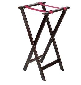 Stylepoint Tray stand Mahogany  84 x 42cm