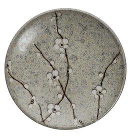 Tokyo Design Studio Grey Soshun Plate 19.5cm