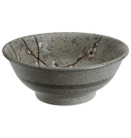 Tokyo Design Studio Grey Soshun Noodle Bowl 21x9cm 1200ml
