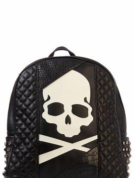 D-Rich Glow skull Bag