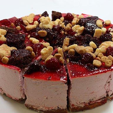 Frambozen Brownie taart 12 punts 2145912