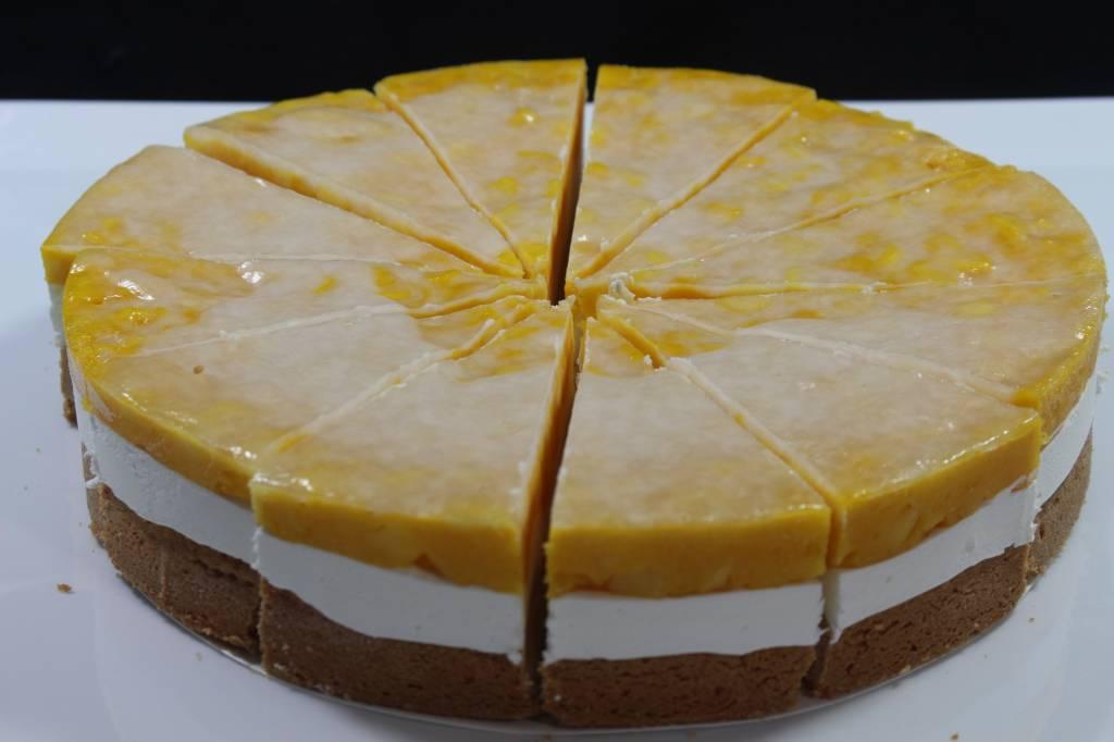 Cheesecake met mango 12 punten