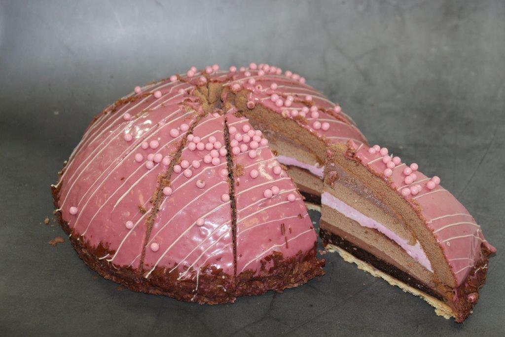 Choco Framboos Brownie boltaart 2145150