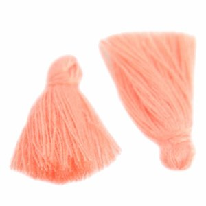 Oranje Kwastje ±25mm Light Peach