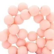 Roze Acryl kralen Hermosa pink 6mm - 50 stuks