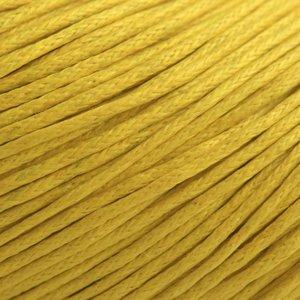Geel Waxkoord geel 1mm - 10 meter